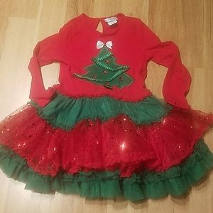 Adorable girls holiday dress size 8